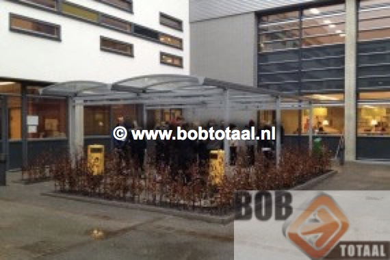 Rookruimte Rookoverkapping ROC MB Tilburg