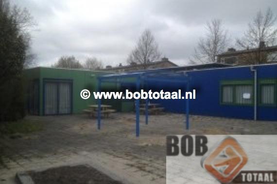 Rookoverkapping in Veenendaal - situatie na montage