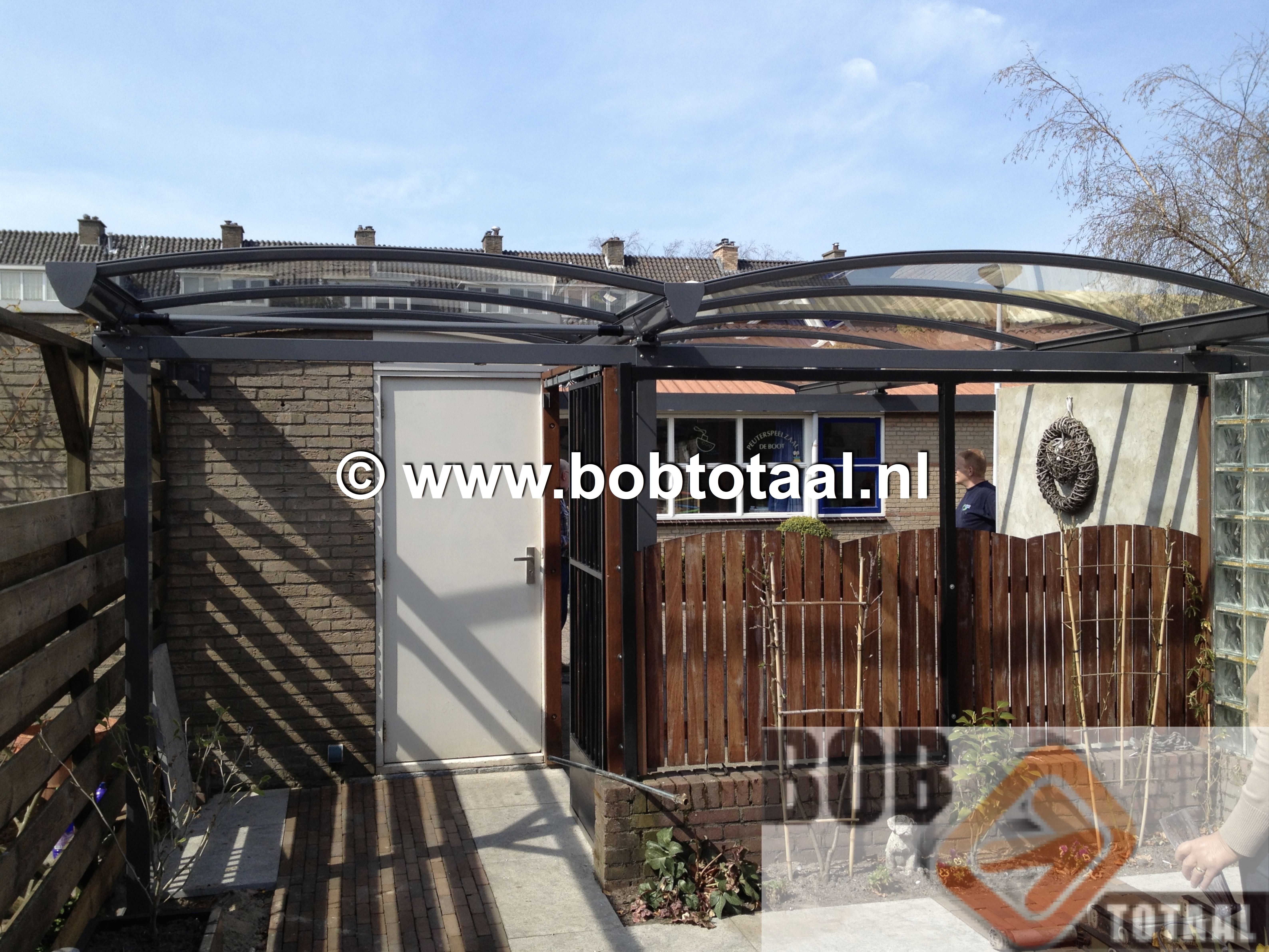 Carport Boogoverkapping Voorburg - BobTotaal