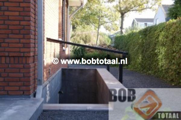 Trapgat overkapping Amsterdam Maatwerk Voorzijde