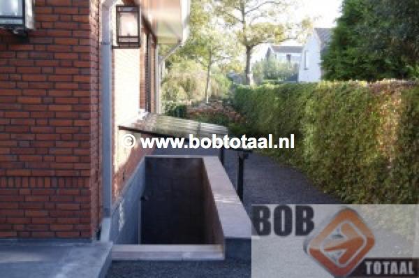 Trapgat overkapping Amsterdam Maatwerk Voorzijde Hoog